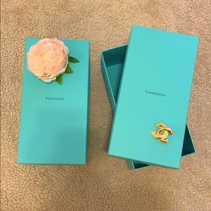 Authentic heavy duty Tiffany and Co. boxes